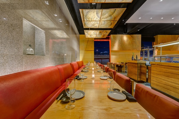 Photo of San Francisco event space venue Ozumo San Francisco's Main Dining - Banquette Table