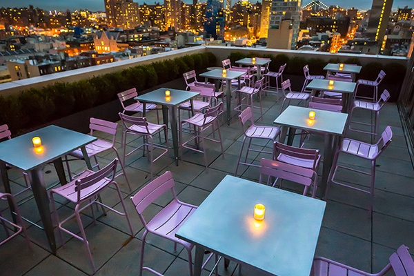 Photo of NYC / Tri-State event space venue Mr Purple's Ludlow Terrace