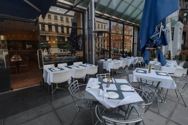 Photo of DC / MD / VA event space venue Sette Osteria Restaurant's Outdoor Dining