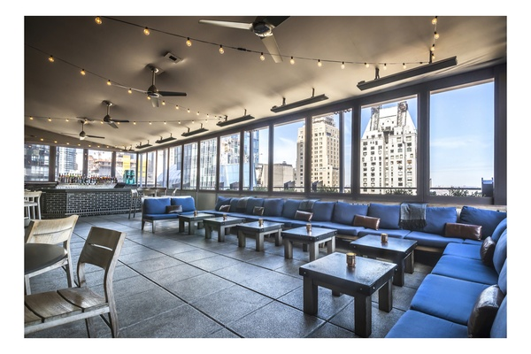 Photo of NYC / Tri-State event space venue The Roof's Half Patio Rental