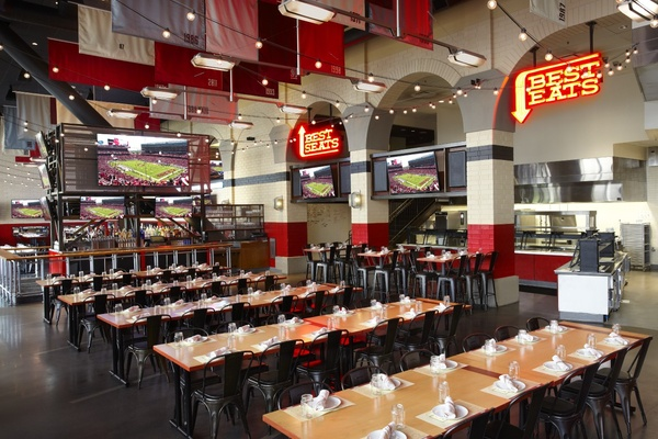 Photo of SF event space venue Bourbon Steak & Bourbon Pub's Michael Mina's Tailgate