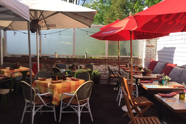 Photo of DC / MD / VA event space venue Belga Cafe's Betsy Rooftop