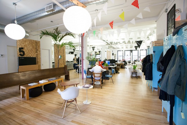 Photo of NYC / Tri-State event space venue Knotel - Flatiron's Reception
