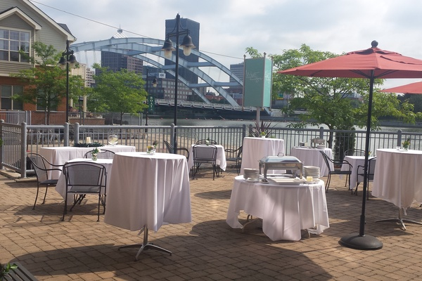 Photo of Upstate New York event space venue West Edge Restaurant & Lounge's Terrace