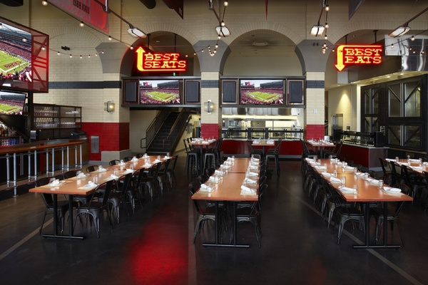 Photo of San Francisco event space venue Bourbon Steak & Bourbon Pub's Michael Mina's Tailgate