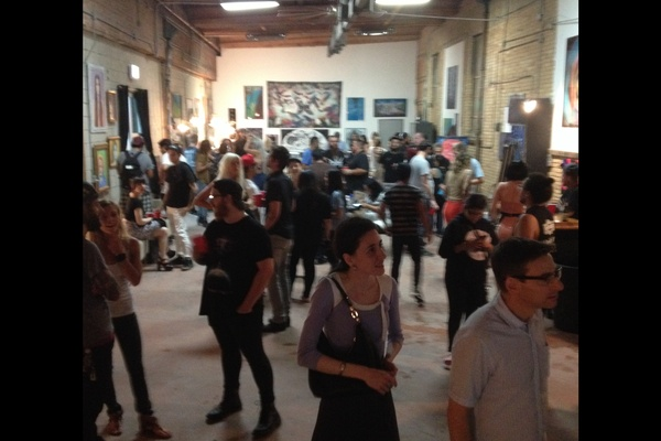 Photo of Chicago event space venue The Black Couch Studio and Gallery's The Black Couch Studio and Gallery