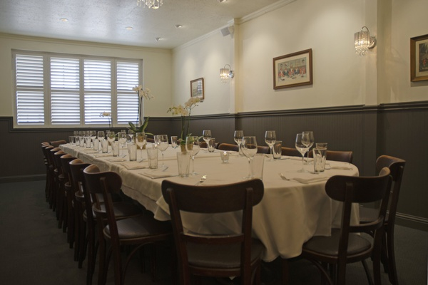 Photo of San Francisco event space venue Alfred's Steakhouse's Blue Fox