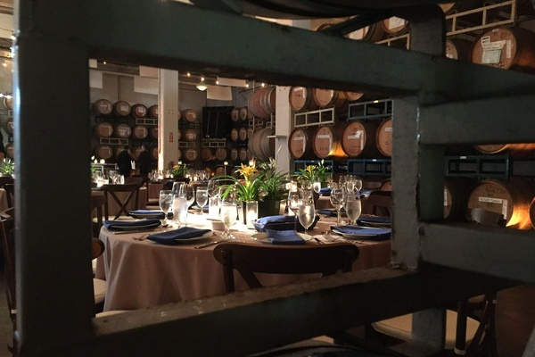 Photo of San Francisco event space venue Dogpatch WineWorks's Dogpatch WineWorks Barrel Room