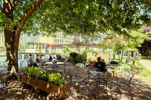 Photo of Chicago event space venue Cyrano's Cafe On The River Walk's Outside