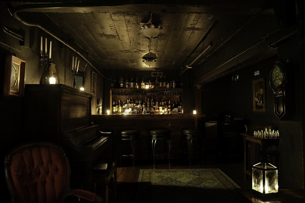 The Speakeasy Library at The Barrel Room
