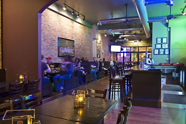 Photo of Chicago event space venue Pizzeria Serio's Downstairs Back Dining Area