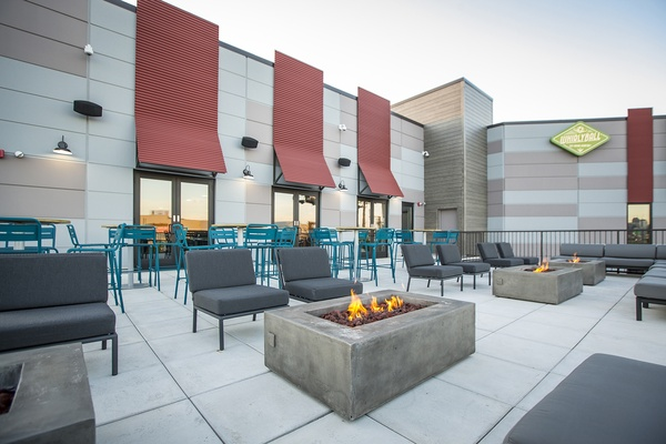 Photo of Chicago event space venue WhirlyBall Chicago's Outside Terrace - Exclusive