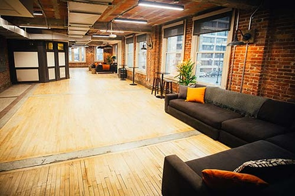 Photo of DC / MD / VA event space venue The Loft at 600 F's Full Venue