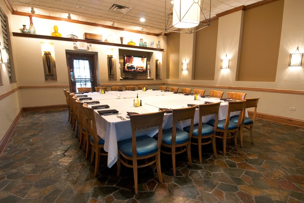 Photo of Chicago event space venue Basils Greek Dining's Rigas Room