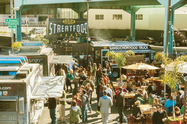 Photo of San Francisco event space venue SoMa StrEat Food Park's Whole Venue