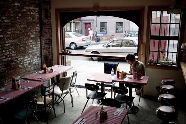 Photo of NYC / Tri-State event space venue Pies 'n' Thighs Garage's Pies 'n' Thighs garage