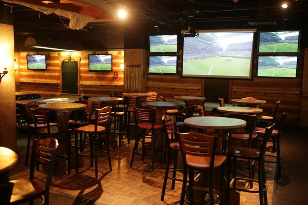 Photo of DC / MD / VA event space venue Buffalo Billiards's Adirondack Room