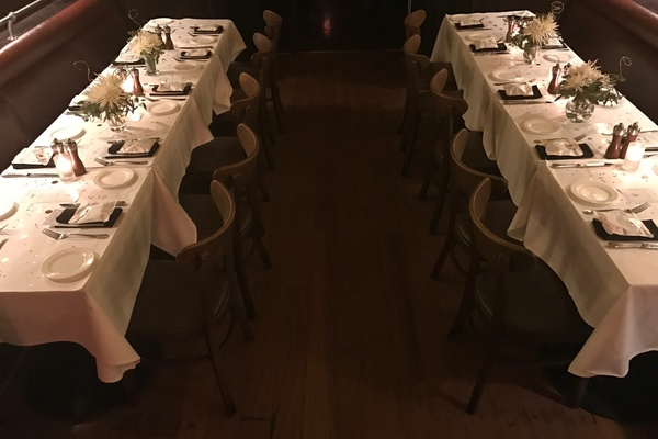 Photo of San Francisco event space venue Cafe Claude's Main  Dining Room - Buyout
