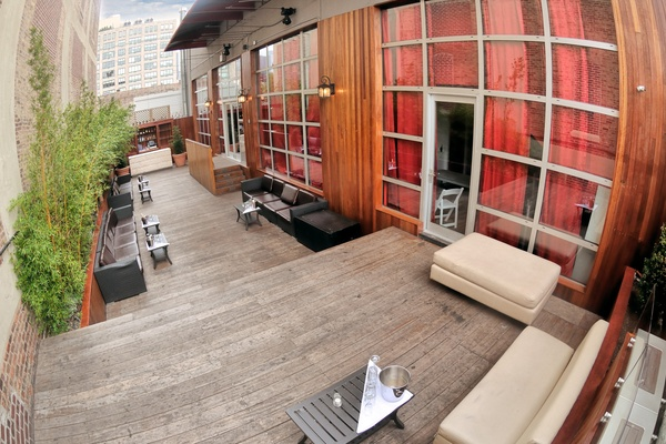 Photo of NYC / Tri-State event space venue Hudson Terrace's The Garden Terrace (Outdoor Space with Sound & Bar)