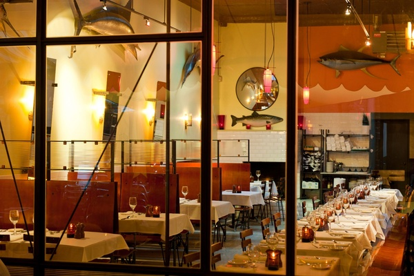 Photo of San Francisco event space venue Plouf's Inside Dining Room and Bar