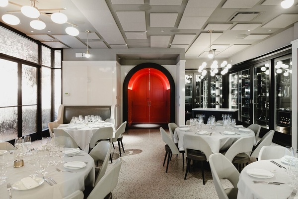 Photo of NYC / Tri-State event space venue La Sirena's South Dining Room Wine Area