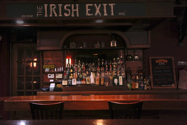 Photo of NYC / Tri-State event space venue Irish Exit's Private Back Bar