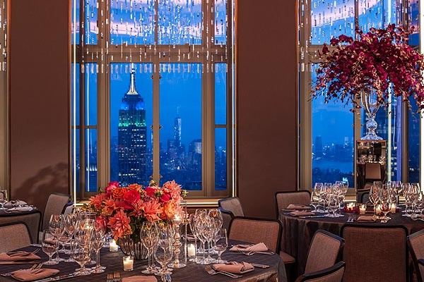 Photo of NYC / Tri-State event space venue Rainbow Room's Full Venue