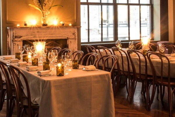 Photo of NYC / Tri-State event space venue The Monarch Room's Private Dining Room - Bayberry