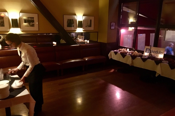 Photo of San Francisco event space venue Cafe Claude's Front Dining Room - Buyout