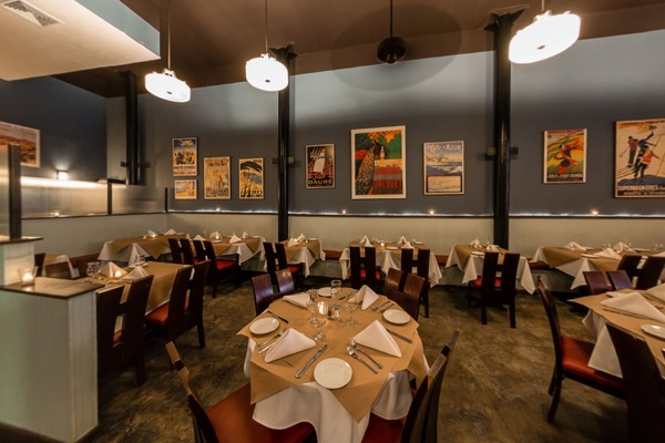 Photo of NYC / Tri-State event space venue Le Midi Bar & Restaurant's Back Dining Room