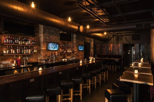 Photo of Chicago event space venue Bar Lupo's Winow Table West