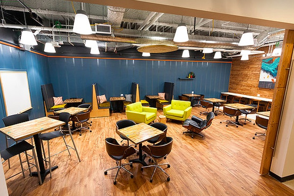 Photo of San Francisco event space venue Workshop Cafe's The Library