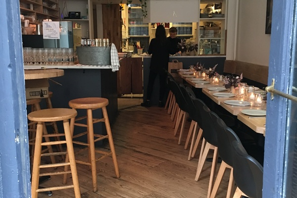 Photo of NYC / Tri-State event space venue L'estudio cafe catering's Charming cafe in Lower East Side, inspired by sustainable design