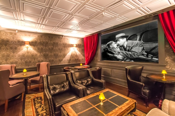 Photo of San Francisco event space venue Noir Lounge's Film Lounge