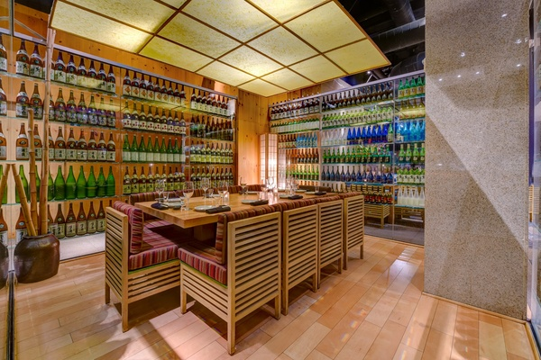 Photo of San Francisco event space venue Ozumo San Francisco's Private Sake Tasting Room