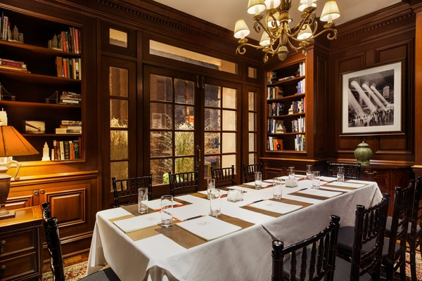 Photo of NYC / Tri-State event space venue The Iroquois Hotel's The Library