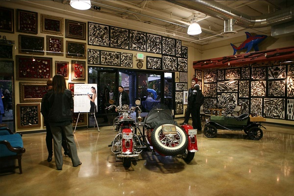Photo of San Francisco event space venue Club Auto Sport's TMFC Museum and Patio