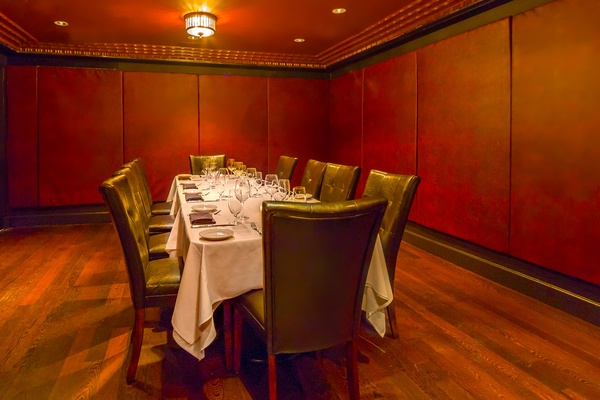 Photo of NYC / Tri-State event space venue Angus Club Steakhouse's Leather Room