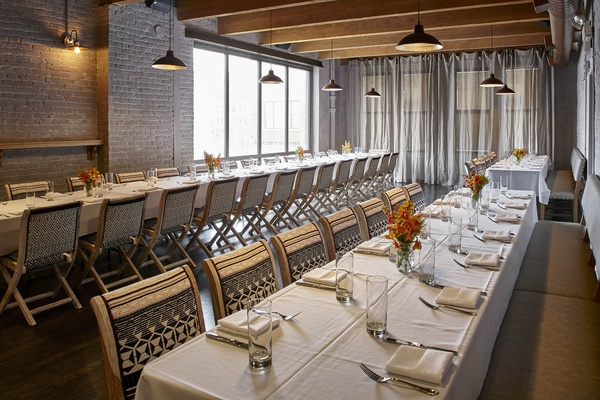 Venuebook book an event at salero chicago - Private dining rooms chicago ...