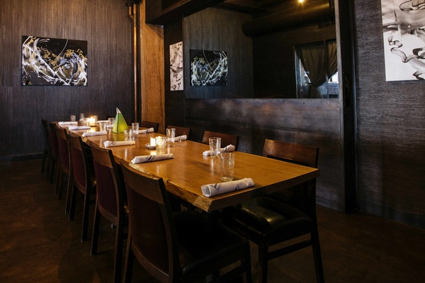 Photo of Chicago event space venue Bar Lupo's The Gallery Private Dining Room