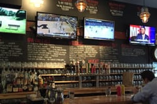 Photo of Chicago event space venue Burger Bar - Lincoln Park's Center Bar