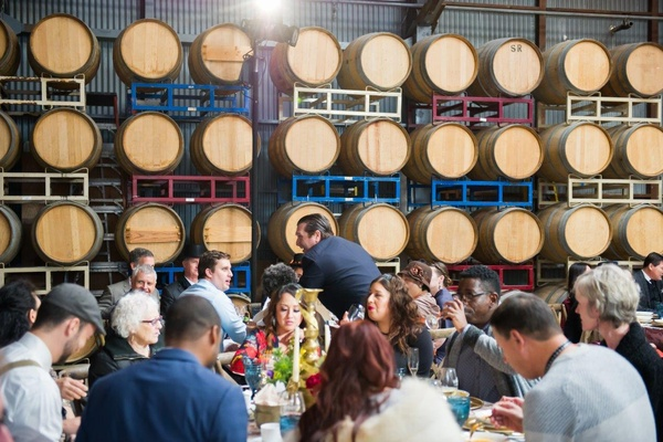 Photo of San Francisco event space venue The Winery SF's The Winery SF Barrel Room