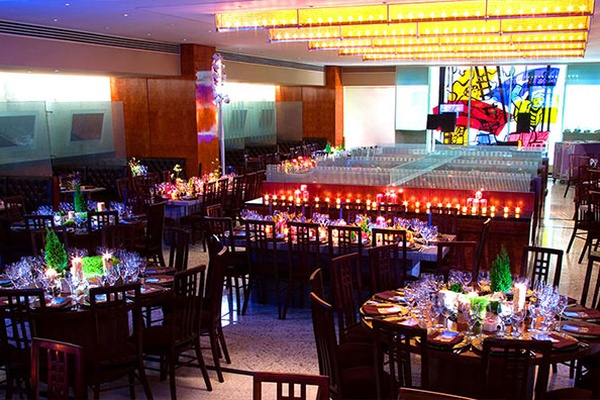 Photo of NYC / Tri-State event space venue Brasserie 8 1/2's Restaurant Full Main Dining Room