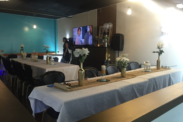 Photo of San Francisco event space venue Qube Bar & Grill's Banquet Room