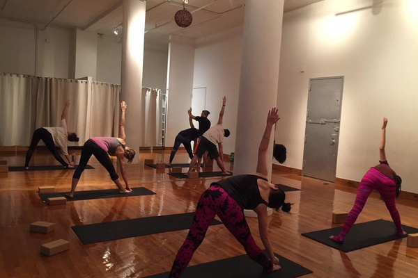 Photo of NYC / Tri-State event space venue BigToe Yoga's Large and Beautiful Yoga studio in Soho - 1/2 Day Rental
