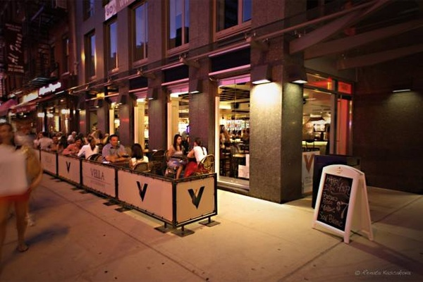 Photo of NYC / Tri-State event space venue Vella Winebar + Kitchen's Terrace