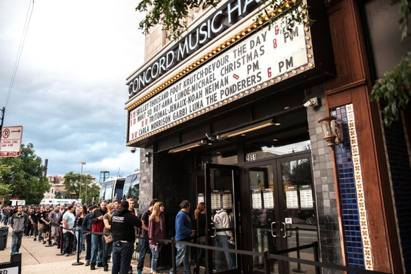 Photo of Chicago event space venue Concord Music Hall's Main Space