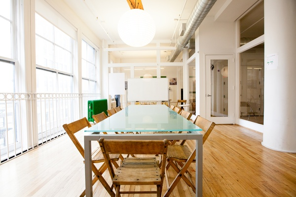 Photo of NYC / Tri-State event space venue Knotel - Flatiron's Helvetica Conference Room