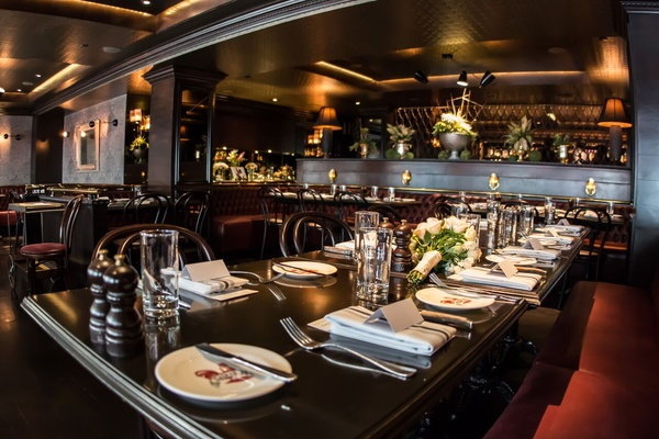 Photo of San Francisco event space venue Gaspar Brasserie's Main Dining Room