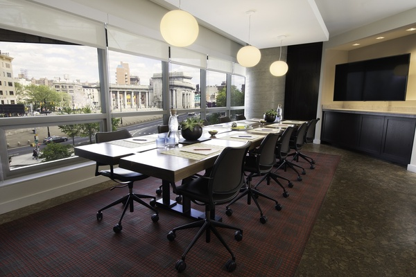 Photo of NYC / Tri-State event space venue Hotel 50 Bowery's Precious Coral Boardroom